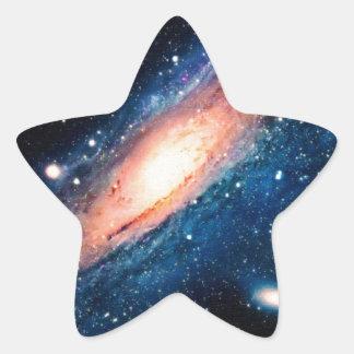 Space -m31 spyral galaxy star sticker