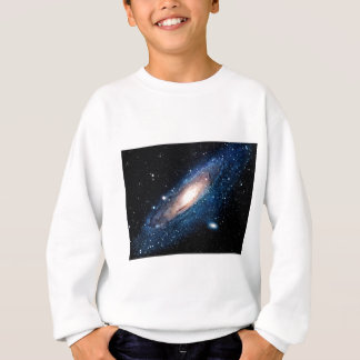 Space m31 spyral galaxy sweatshirt