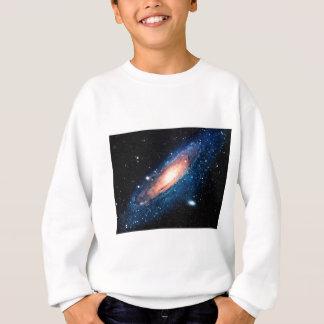 Space -m31 spyral galaxy sweatshirt