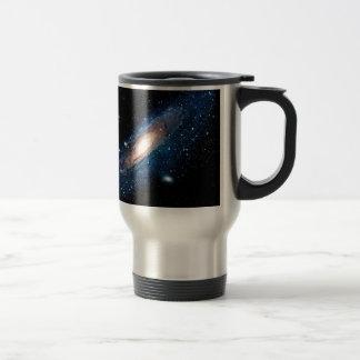 Space m31 spyral galaxy travel mug