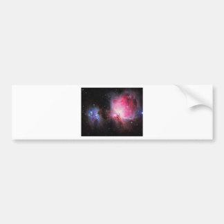 Space M42  Great Orion Nebula  Ghost Nebula Bumper Stickers