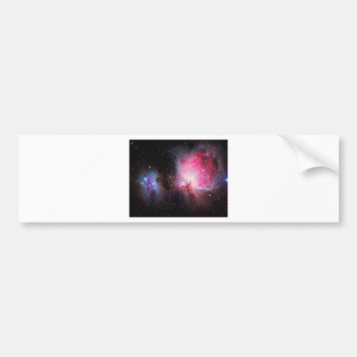 Space M42  Great Orion Nebula  Ghost Nebula Bumper Sticker