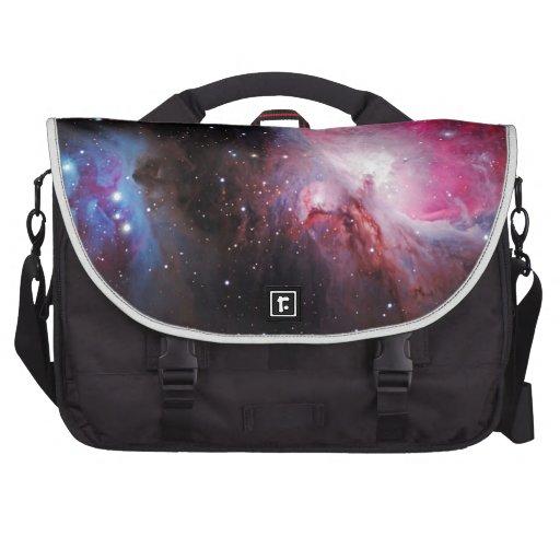Space M42  Great Orion Nebula  Ghost Nebula Laptop Commuter Bag