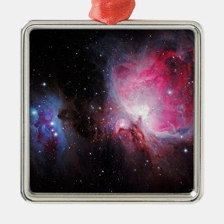 Space M42  Great Orion Nebula  Ghost Nebula Metal Ornament