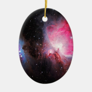 Space M42  Great Orion Nebula  Ghost Nebula Christmas Ornaments