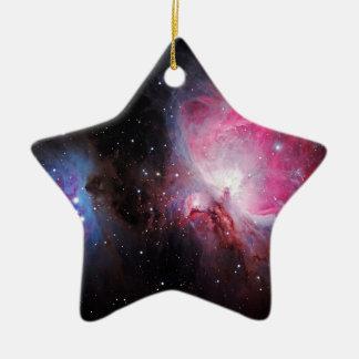 Space M42  Great Orion Nebula  Ghost Nebula Christmas Tree Ornament