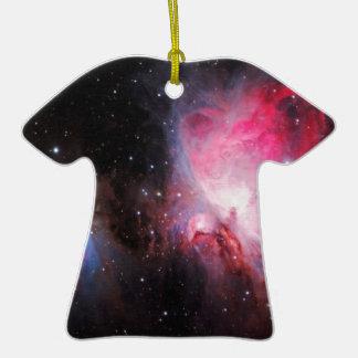 Space M42  Great Orion Nebula  Ghost Nebula Christmas Ornament