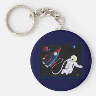Space Man Keychain