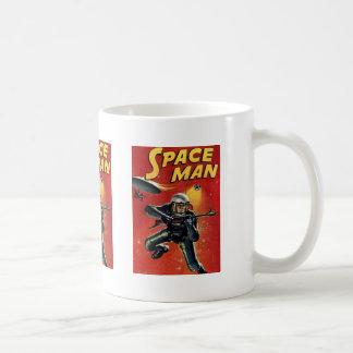 Space Man Coffee Mugs