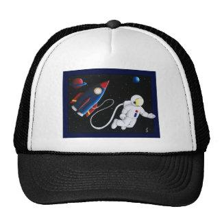 Space Man Trucker Hat