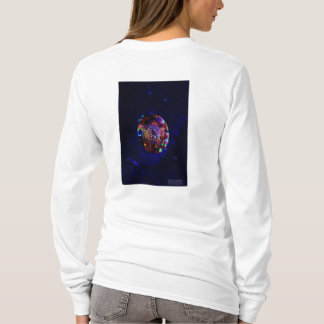 Space Marbles Rise into Space on a Crystal Ball T-Shirt
