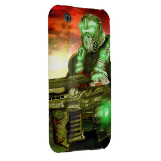 Space Marine iPhone 3G/3GS Case-Mate Barely There™ iPhone 3 Cover