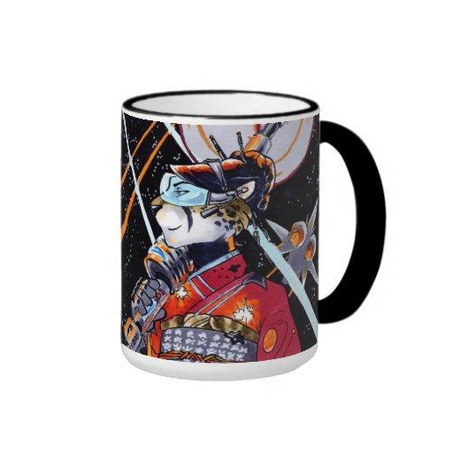 Space Marine Kimono Jaguar Mug