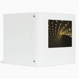 Space melody swirl vinyl binder