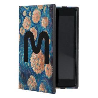 Space Mimosa Golden Nebula Blossom Case For iPad Mini