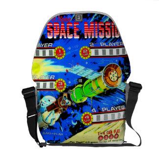Space Mission Courier Bag