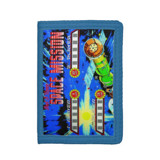 Space Mission Trifold Wallets