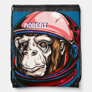 space monkey astronaut backpack