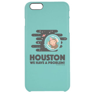 Space Monkey Clear iPhone 6 Plus Case
