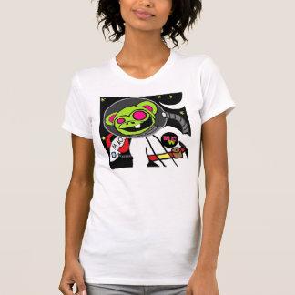 Space Monkey DJ MWC (Women) Tee Shirt