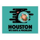 Space Monkey Postcard