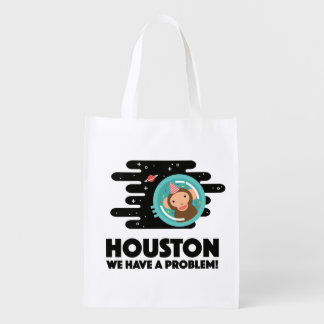 Space Monkey Reusable Grocery Bag