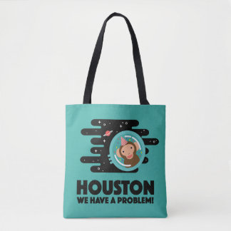 Space Monkey Tote Bag