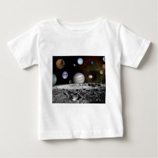 space montage baby T-Shirt