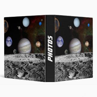 space montage binders
