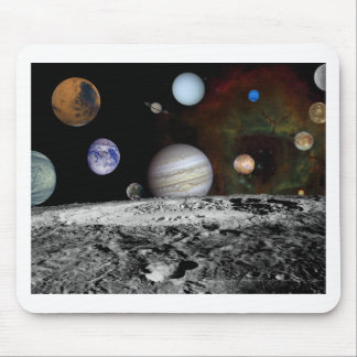 space montage mousepads