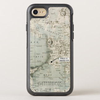 SPACE: MOON MAP, 1972 OtterBox SYMMETRY iPhone 7 CASE