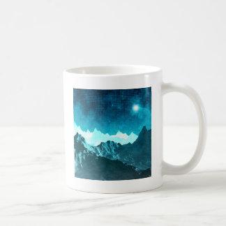 Space Mountains Coffee Mug