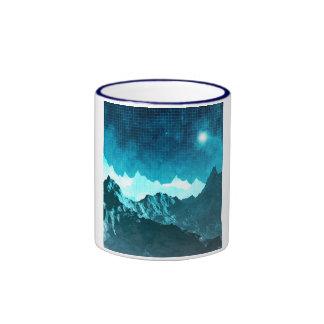 Space Mountains Ringer Mug