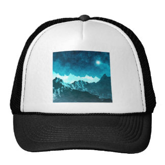 Space Mountains Trucker Hat
