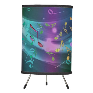 Space Music Dark Musical Hurricane Desk Lamp