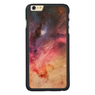 Space Nebula Carved® Maple iPhone 6 Plus Slim Case