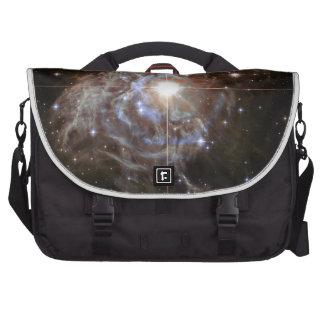 Space Nebula - Cepheid Variable Star RS Puppis Laptop Bags