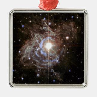 Space Nebula - Cepheid Variable Star RS Puppis Metal Ornament