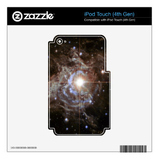 Space Nebula - Cepheid Variable Star RS Puppis Decal For iPod Touch 4G