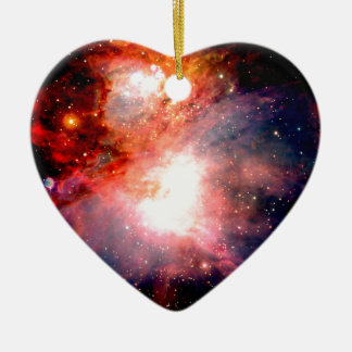 Space Nebula Ceramic Ornament
