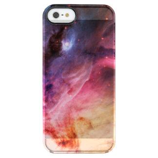 Space Nebula Clear iPhone SE/5/5s Case