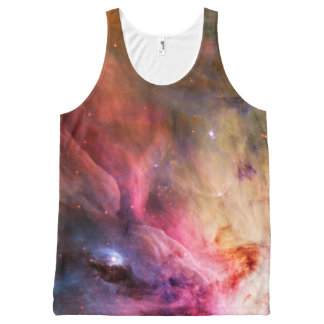 Space Nebula All-Over Print Tank Top