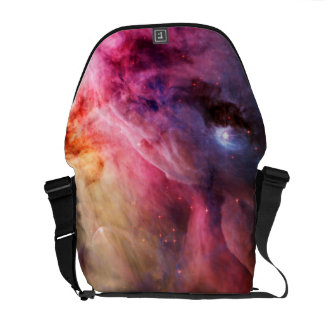 Space Nebula Messenger Bags