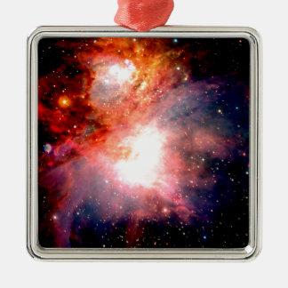 Space Nebula Metal Ornament