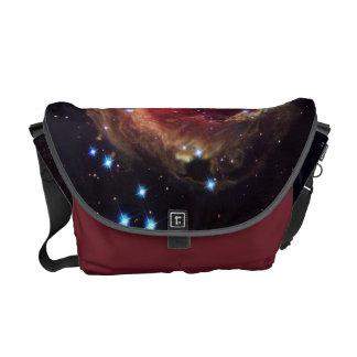 Space Nebula Starscape Custom Messenger Bag by SKO