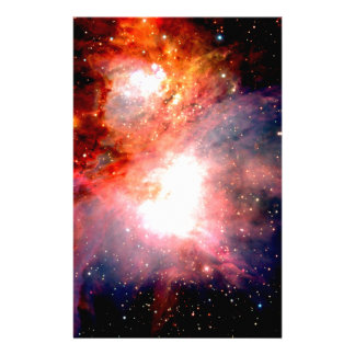 Space Nebula Stationery