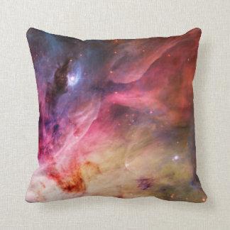 Space Nebula Throw Pillow