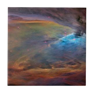 Space Nebula Ceramic Tile