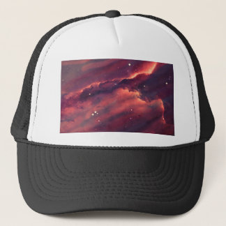 Space nebula trucker hat