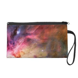 Space Nebula Wristlet Purse